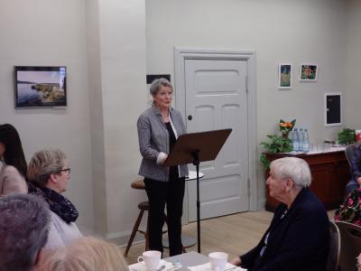 Fotoalbum Literatur-Café : Christel Weimar: Fontaneprogramm