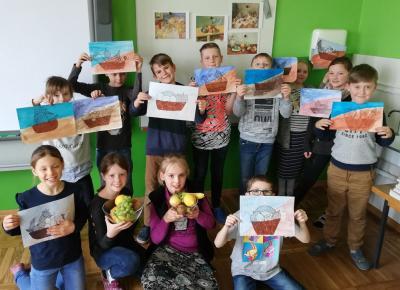 Fotoalbum Kunst in der Klasse 3a