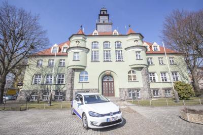 Fotoalbum Übergabe e-Golf an den Bürgermeister der Gemeinde Sohland a. d. Spree