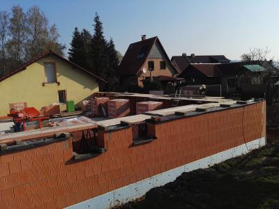 Fotoalbum Bau Vereinsheim - Update April