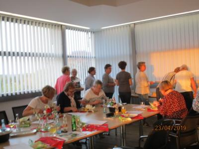 Fotoalbum EWE-Kochabend am 23. & 30.April - Thema: Wir lieben Kräuter!-gesund geniessen mit Kresse & Co