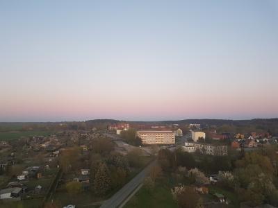 Fotoalbum Osterfeuer und Warin von oben (Drehleiter)