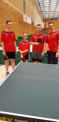 Fotoalbum Bundesfinale Tischtennis - Platz 6