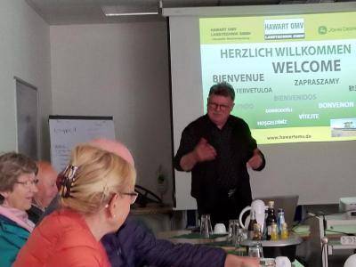 Fotoalbum Betriebsbesichtigung in der Fa. Hawart Landtechnik in Weitin