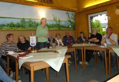 Fotoalbum Stammtisch mit den Kandidaten für die Gemeindevertreterversammlung