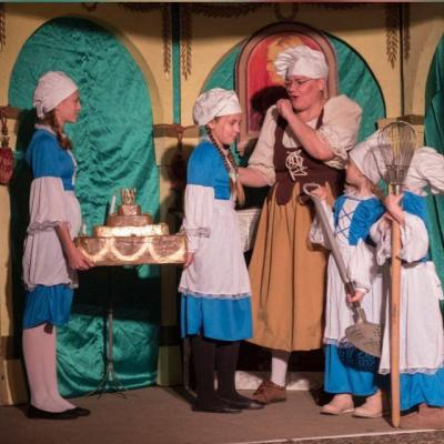 Fotoalbum Weihnatsmärchen im Festsaal des Schlosses