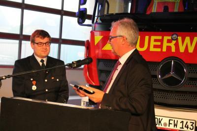 Fotoalbum Freiwillige Feuerwehr Brandoberndorf erhält neue Fahrzeuge