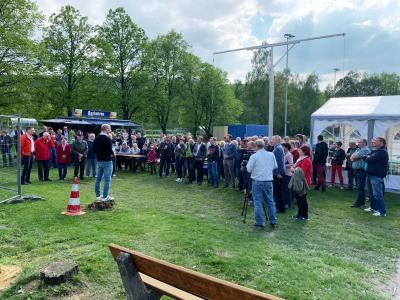 Fotoalbum 17.05.2019 - Richtfest Neubau Vereinsheim