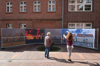 "Fotoalbum Ausstellung ""Panoramablick"" in der Museumsfabrik"