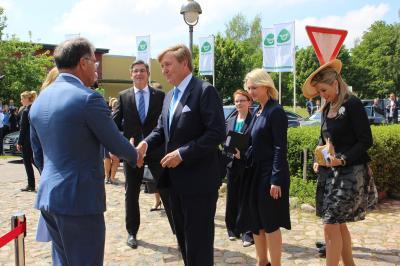 Fotoalbum Besuch des niederländischen Königspaares in Bollewick