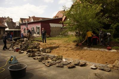 Fotoalbum Gartenaktion Teil 1