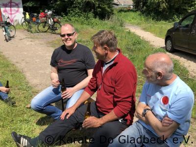Fotoalbum Fahrradtour des Karate Do Gladbeck 2019