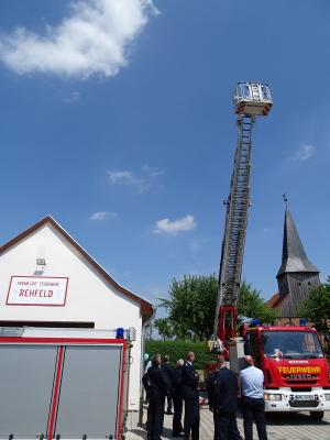 Fotoalbum Übergabe modernisiertes Feuerwehrgerätehaus in Rehfeld