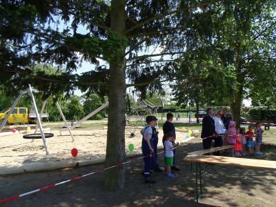 Fotoalbum Einweihung neuer Spielplatz in Rehfeld