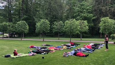 Fotoalbum Yoga für Jonas im Pritzwalker Hainholz