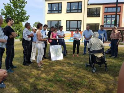 "Fotoalbum Quartiersrundgang ""Neubaugebiet Perleberg im Wandel"""