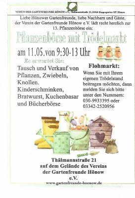 Fotoalbum Pflanzenbörse mit Trödelmarkt