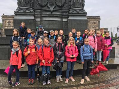 Fotoalbum Fahrt nach Dresden der Klasse 4a