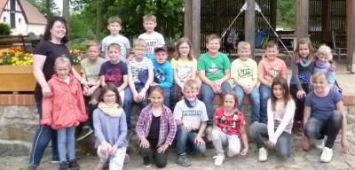 Fotoalbum Exkursion in den Park Canitz Klasse 2a und 2b