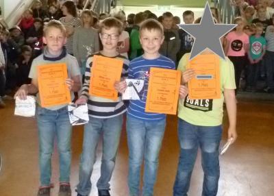 Fotoalbum Mathematikolympiade 2. Stufe Sieger Klasse 1-4