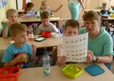 Fotoalbum Schnuppertag der Schulanfänger