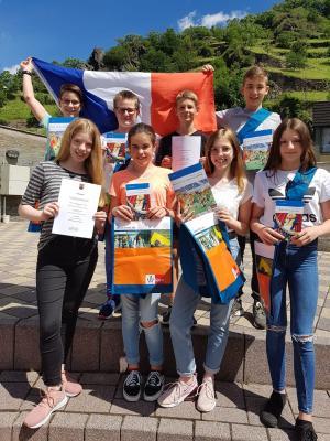 Fotoalbum Erfolg beim Bundeswettbewerb Fremdsprachen
