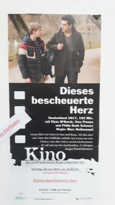 "Fotoalbum Kino im DorfTreff Rhade ""Dieses bescheuerte Herz"""
