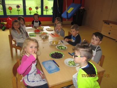 Fotoalbum Knochenstarke Frühstücksaktion