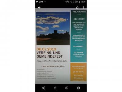 Fotoalbum Vereins- und Gemeindefest Gallin - Kuppentin 2019