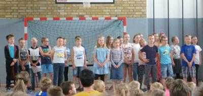 Fotoalbum Verabschiedung 4. Klasse