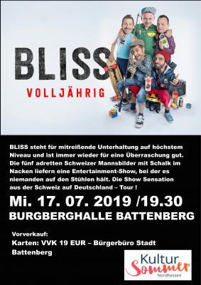 Fotoalbum BLISS - A Capella aus der Schweiz am 17.7.2918