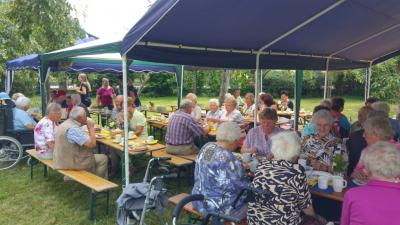 Fotoalbum Senioren-Sommerfest in Aurach
