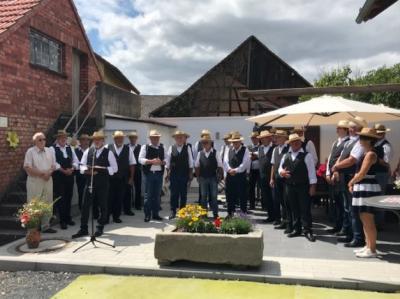 Fotoalbum Sommerfest MGV zum 130 jährigen Vereinsjubiläum