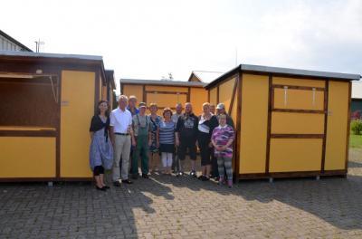 Fotoalbum BUW übergibt neue Hütten an die Hansestadt Demmin