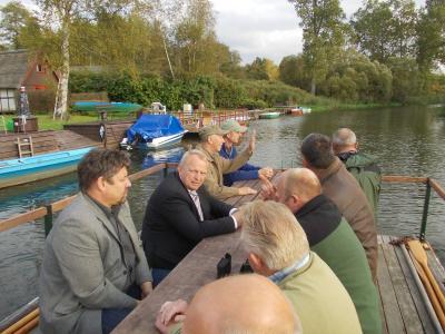 Fotoalbum Besuch vom Minister Dr. Till Backhaus 17.09.2012