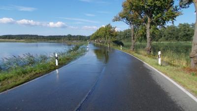Fotoalbum Sommerhochwasser 2011 an der Recknitz
