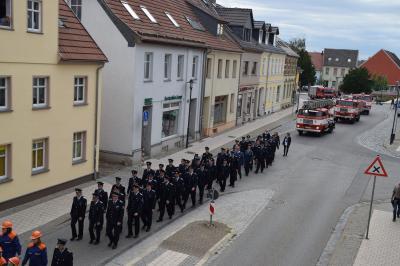 Fotoalbum Fahnenweihe der Freiwilligen Feuerwehr Perleberg