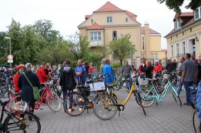 Fotoalbum 29. Radtour der Falkenseer Stadtverordneten  - Fotos vom 17. August 2019