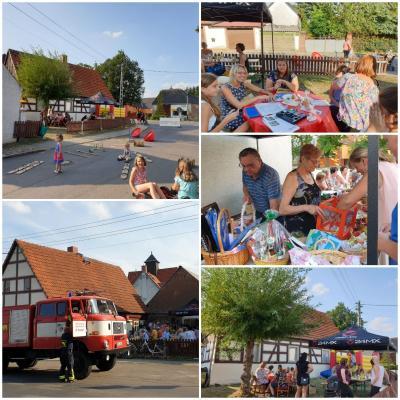 Fotoalbum Sommer, Sonne, gute Laune am Fachwerkhaus in Domsdorf