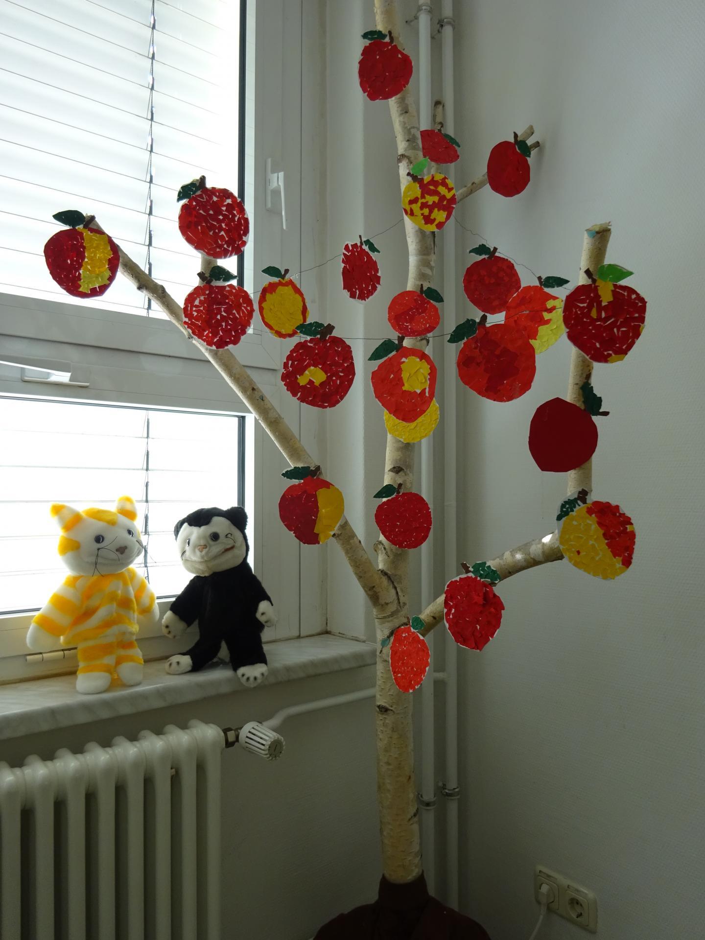 Friedrich Ludwig Jahn Grundschule Luckenwalde Klasse 1a So Viele Leckere Apfel