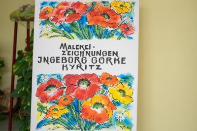Fotoalbum Ausstellungseröffnung Ingeborg Görke -Malerei und Zeichnungen-