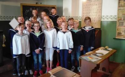 Fotoalbum Besuch des Eilenburger Schulmuseums Klassen 4a & 4b