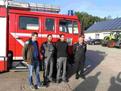 Fotoalbum Kooperationsvertrag zur Sicherung der Tageseinsatzbereitschaft der Feuerwehr