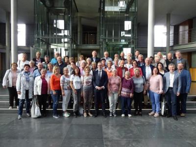 Fotoalbum Fahrt zum Bundestag
