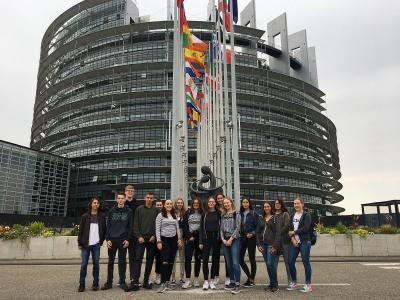 Fotoalbum Eine feste Tradition am WHG: Französischkurse der MSS 13 zu Gast in Straßburg