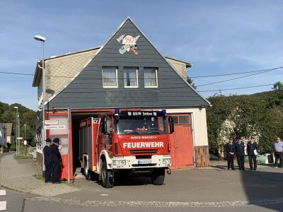 Fotoalbum Übergabe neuen Feuerwehrgerätehaus Zethau