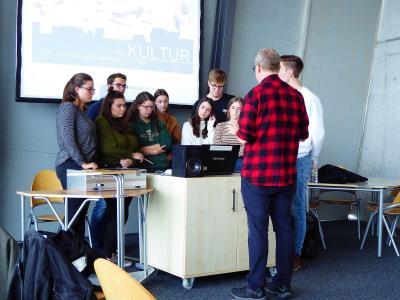 Fotoalbum Exkursion des Leistungskurses Geschichte (MSS 13) nach Nürnberg