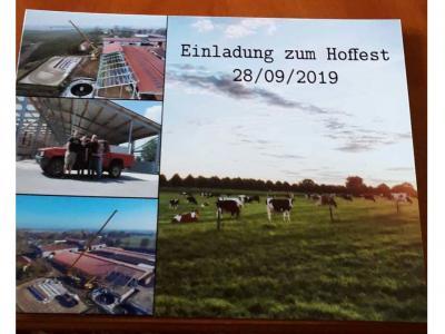 Fotoalbum Hoffest am 28.09.in Zahren