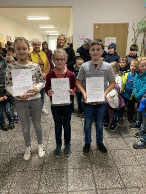 Foto des Albums: Sieger bei der Mathematikolympiade (28.10.2019)