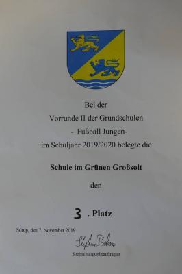 Fotoalbum Grundschulwettbewerb Futsal